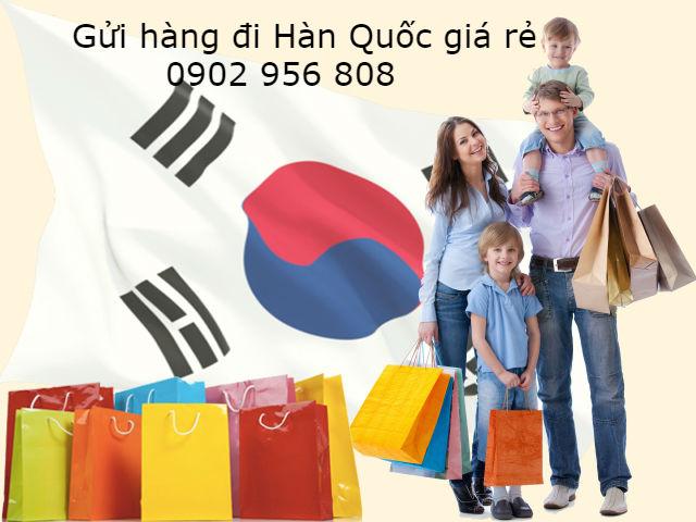 Dịch vụ gửi hàng đi Hàn Quốc giá rẻ