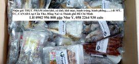 Gửi thực phẩm đi Mỹ tại Đồng Nai